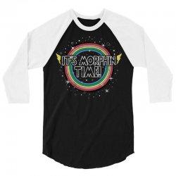 it's morphin time! 3/4 Sleeve Shirt | Artistshot