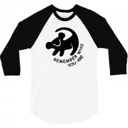 lion king remember who you are 3/4 Sleeve Shirt | Artistshot