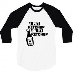 ketchup 3/4 Sleeve Shirt | Artistshot