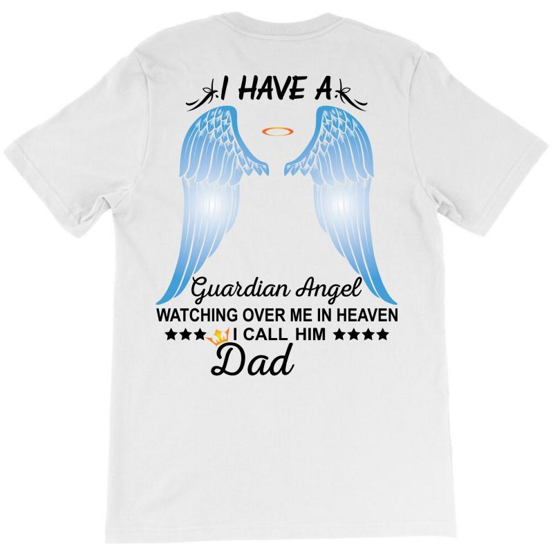 My Dad Is My Guardian Angel T-shirt | Artistshot