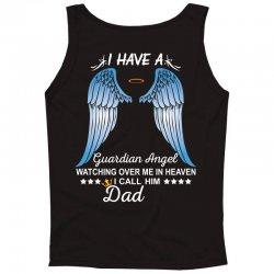 My Dad Is My Guardian Angel Tank Top | Artistshot