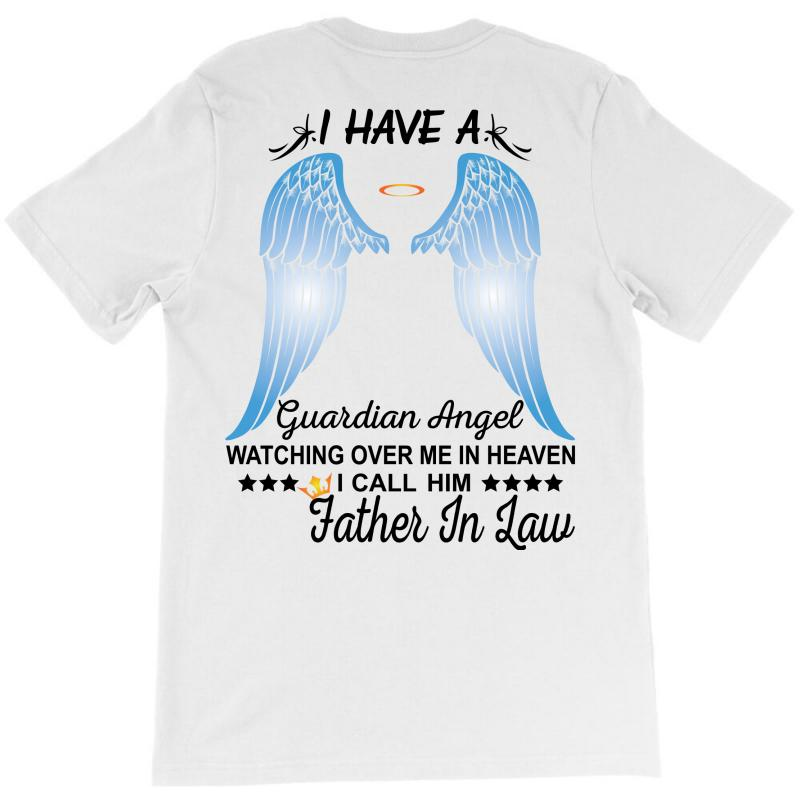 My Father In Law Is My Guardian Angel T-shirt   Artistshot