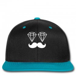 Custom Dope Chef Diamond Moustache Hipster Swag Illest Snapback By ... efd35f99cdf