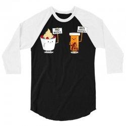 my gut my choice 3/4 Sleeve Shirt | Artistshot
