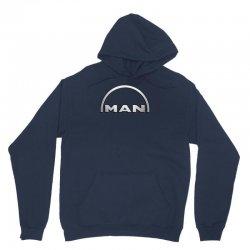man logo truck Unisex Hoodie | Artistshot