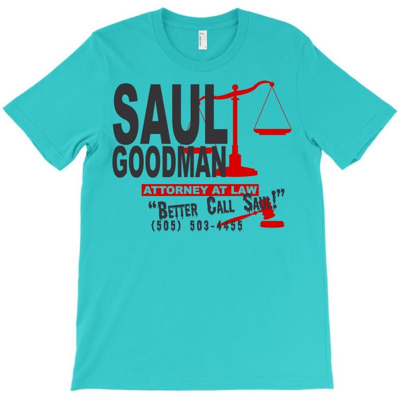 Saul Goodman Law T-shirt | Artistshot