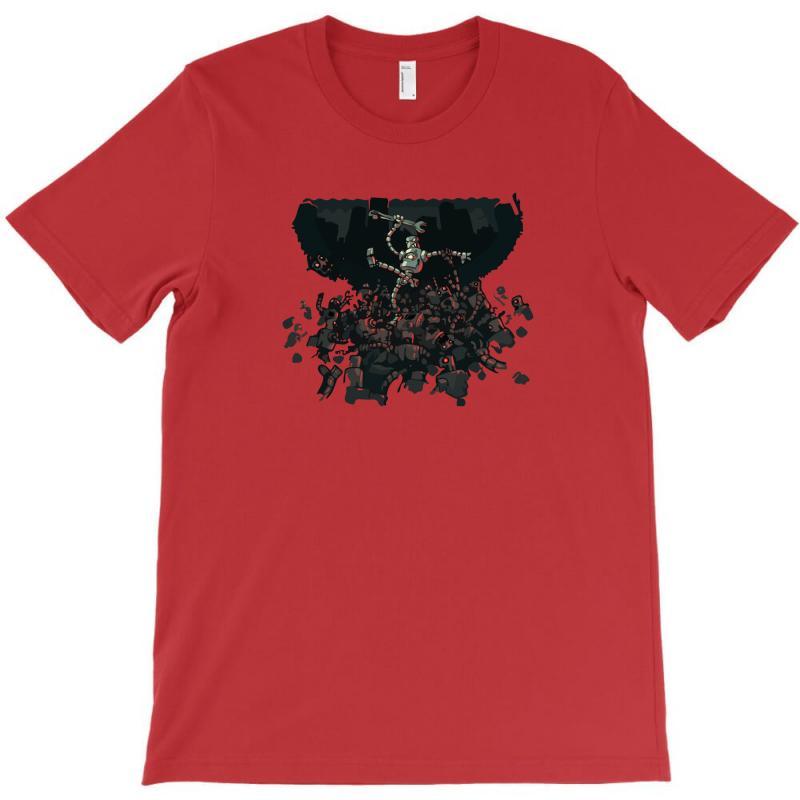 Robot Zombies! T-shirt | Artistshot