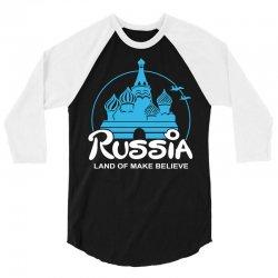 russia 3/4 Sleeve Shirt | Artistshot
