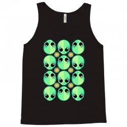 sad alien and daisy nineties grunge pattern Tank Top | Artistshot