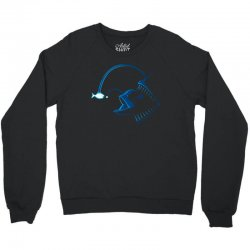 out baby fished Crewneck Sweatshirt | Artistshot