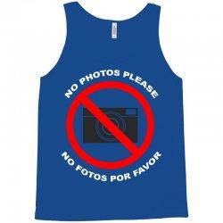 no photos please Tank Top | Artistshot