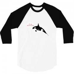seaworld ringer 3 colours 3/4 Sleeve Shirt | Artistshot