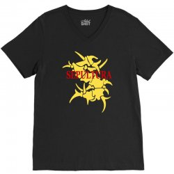 sepultura logo soulfly cavalera conspiracy death thrash metal V-Neck Tee | Artistshot