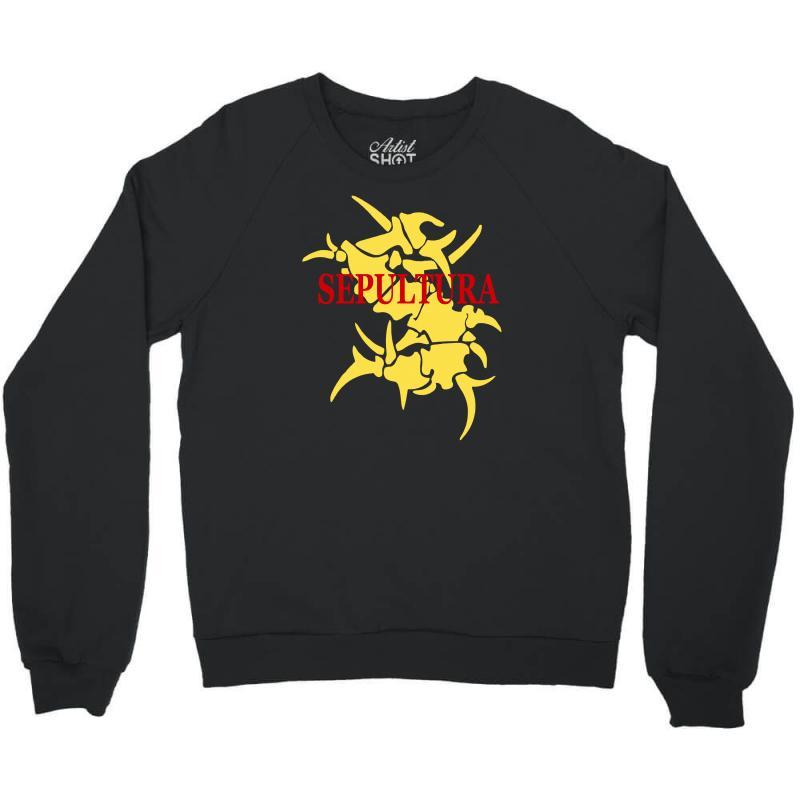 Sepultura Logo Soulfly Cavalera Conspiracy Death Thrash Metal Crewneck Sweatshirt | Artistshot