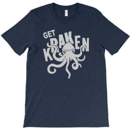 Sea Monster Geek T-shirt Designed By Permatasarisekar