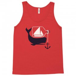 ship & whale Tank Top | Artistshot