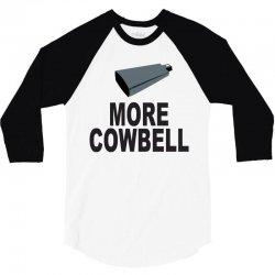 snl more cowbell 3/4 Sleeve Shirt   Artistshot