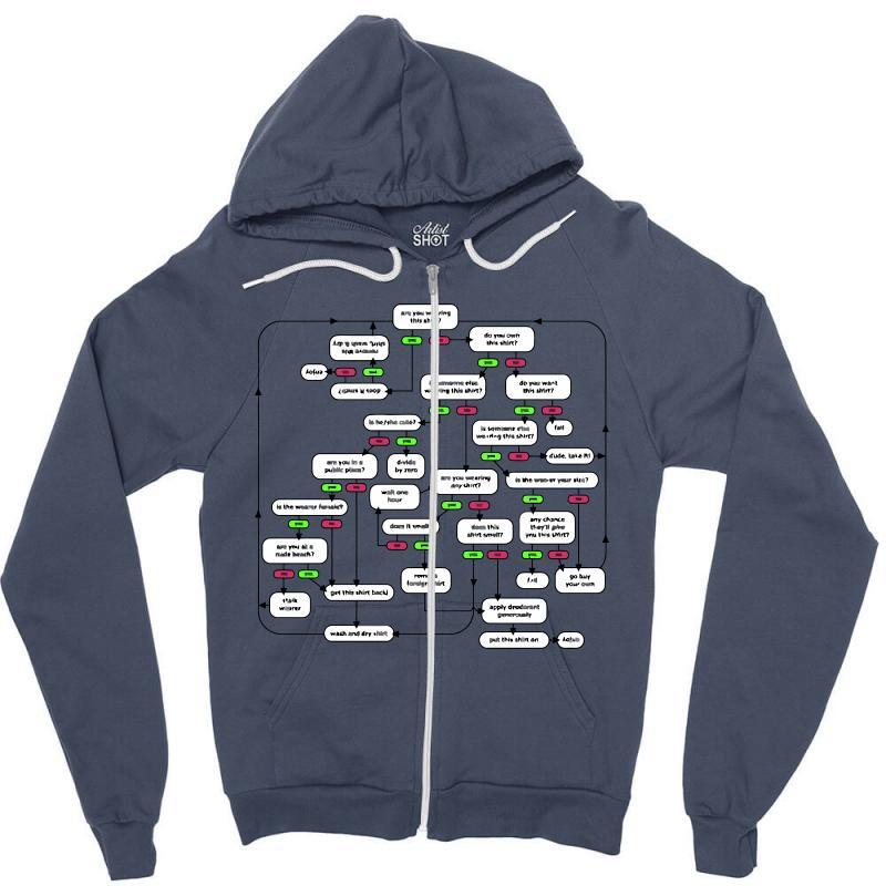 Shirt 101 Zipper Hoodie | Artistshot
