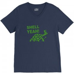 shell yeah V-Neck Tee | Artistshot