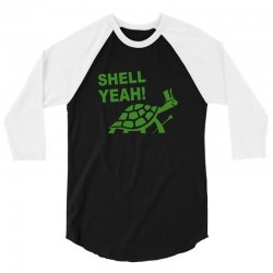 shell yeah 3/4 Sleeve Shirt | Artistshot