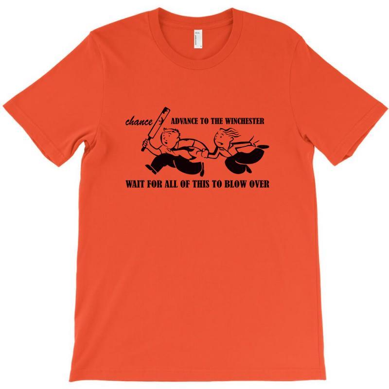 Shauns Last Chance T-shirt   Artistshot