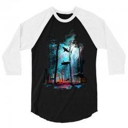 shark forest 3/4 Sleeve Shirt | Artistshot