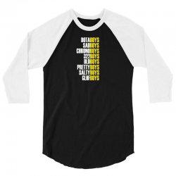 the boys (wy version) 3/4 Sleeve Shirt | Artistshot