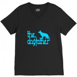 the dogfather german shepherd V-Neck Tee | Artistshot