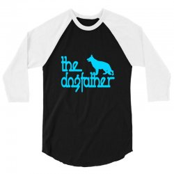 the dogfather german shepherd 3/4 Sleeve Shirt | Artistshot