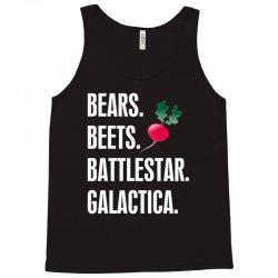 Bears Beets Battlestar Galactica Tank Top | Artistshot