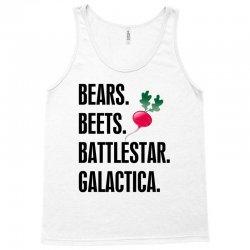 Bears Beets Battlestar Galactica Tank Top   Artistshot