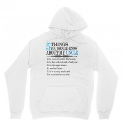5 Things You Should Know About My Uncle Unisex Hoodie | Artistshot