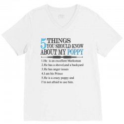 5 Things You Should Know About My Poppy V-Neck Tee | Artistshot