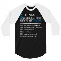 5 Things You Should Know About My Poppy 3/4 Sleeve Shirt   Artistshot