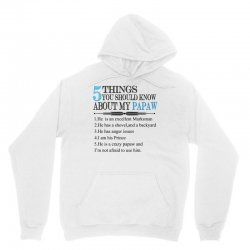 5 Things You Should Know About My Papaw Unisex Hoodie | Artistshot