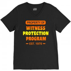 witness protection program V-Neck Tee | Artistshot