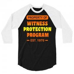witness protection program 3/4 Sleeve Shirt | Artistshot