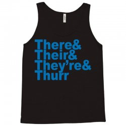 there & their & they're & thurr Tank Top | Artistshot
