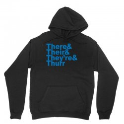 there & their & they're & thurr Unisex Hoodie | Artistshot