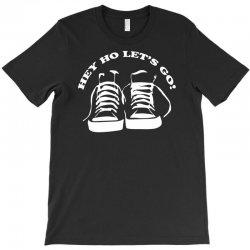 the ramones tribute hey ho lets go T-Shirt | Artistshot