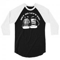 the ramones tribute hey ho lets go 3/4 Sleeve Shirt | Artistshot