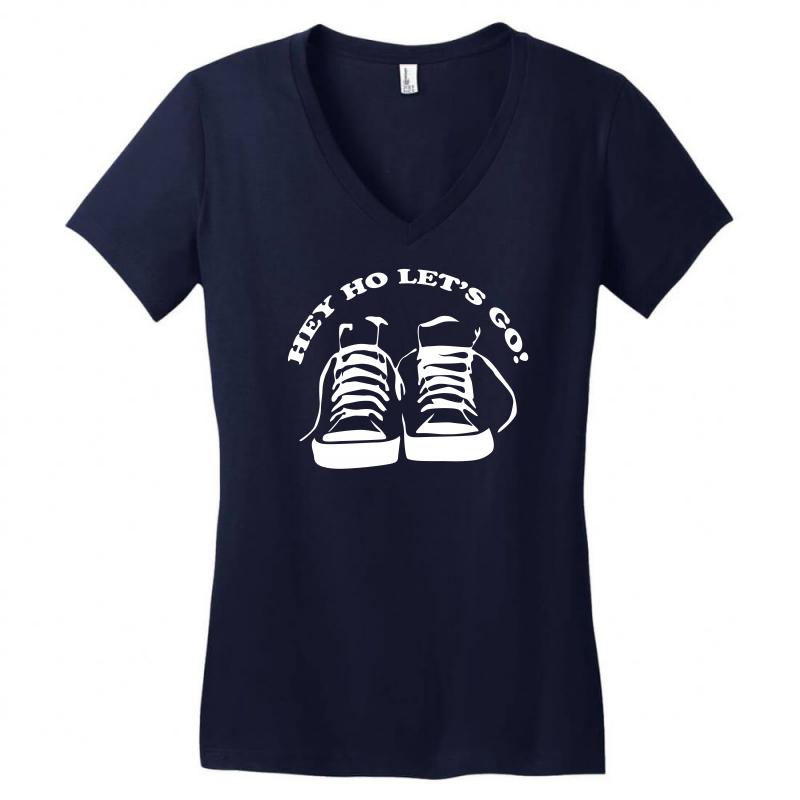 The Ramones Tribute Hey Ho Lets Go Women's V-neck T-shirt | Artistshot