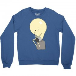 the thinker Crewneck Sweatshirt | Artistshot