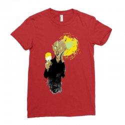 the ice scream Ladies Fitted T-Shirt   Artistshot