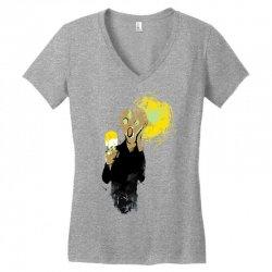 the ice scream Women's V-Neck T-Shirt   Artistshot