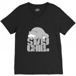 stay chill V-Neck Tee | Artistshot