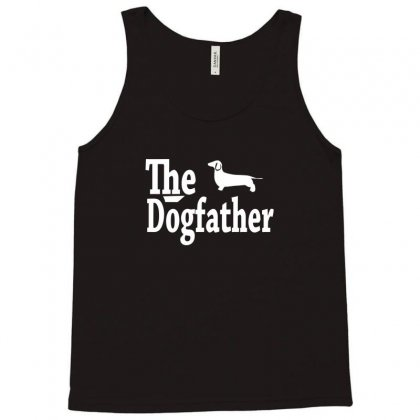 The Dogfather Dachshund Tank Top Designed By Permatasarisekar