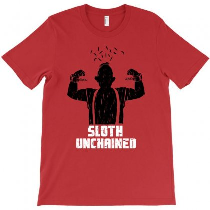 Sloth Unchained T-shirt Designed By Permatasarisekar