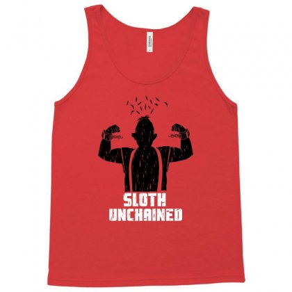 Sloth Unchained Tank Top Designed By Permatasarisekar