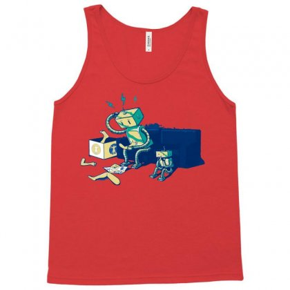 Some Assembly Required Tank Top Designed By Permatasarisekar
